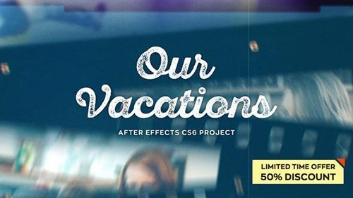 Our Vacations - Project for After Effects (Videohive)