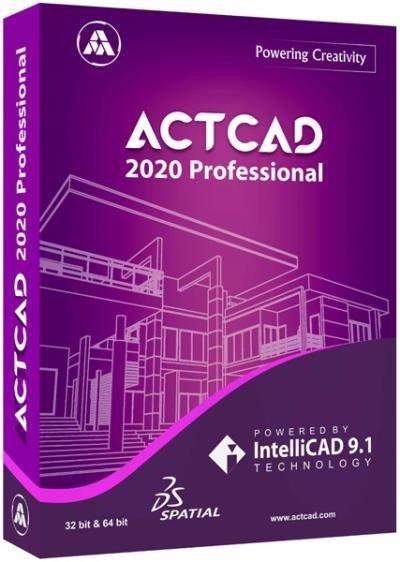 ActCAD 2020 Professional 9.2.710